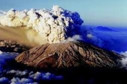 Mount St Helens erupted