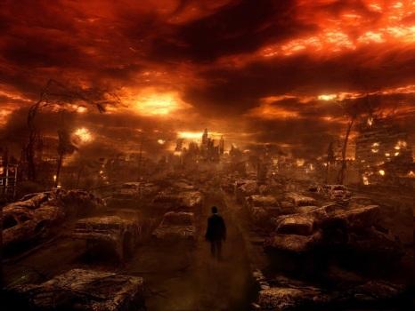 Cidade em chamas