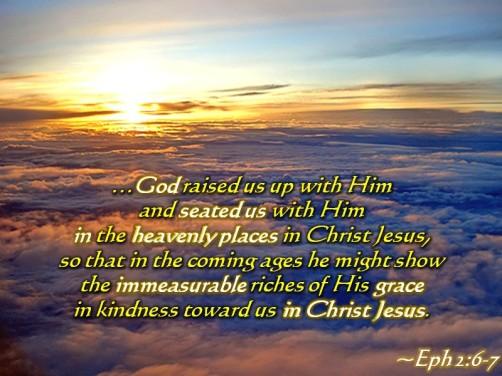 Eph 2 6-7