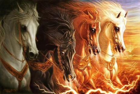 4 cavalos