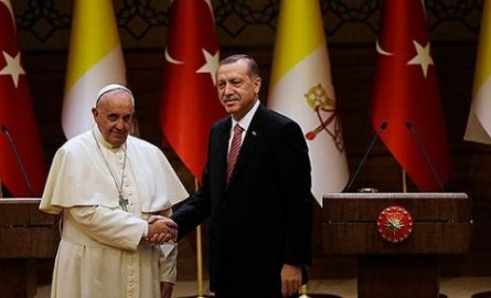 Pope-Francis-Tayyip-Erdoğan