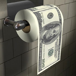 USDollarmoney-toilet-roll