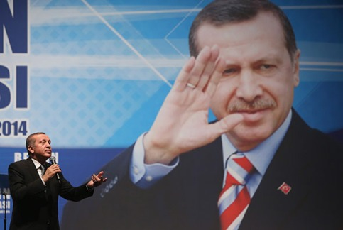 Turkish Prime Minister Erdogan Holds Rally In Berlin