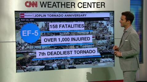 tornado that ripped through Joplin