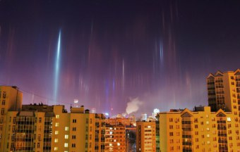 light-pillars