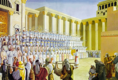 dedication of Solomons Temple