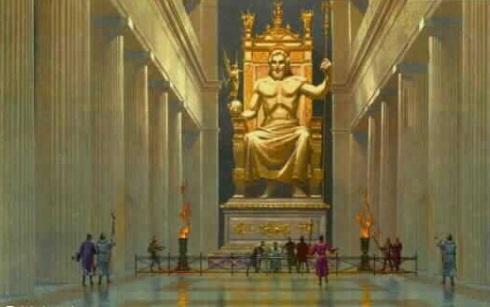 zeus-in-temple