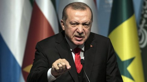 Erdogan says US can no longer be a mediator