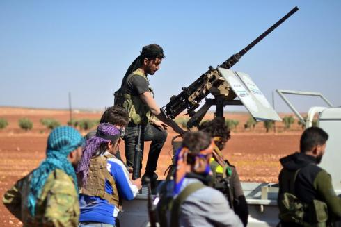 Iranian military foothold in Syria