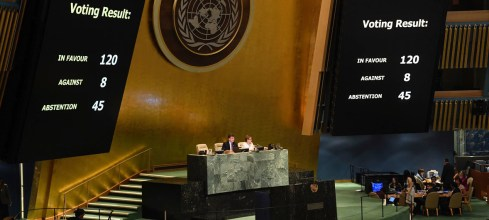 UN General Assembly condemns Israels excessive force