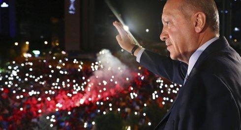 Erdogans inauguration