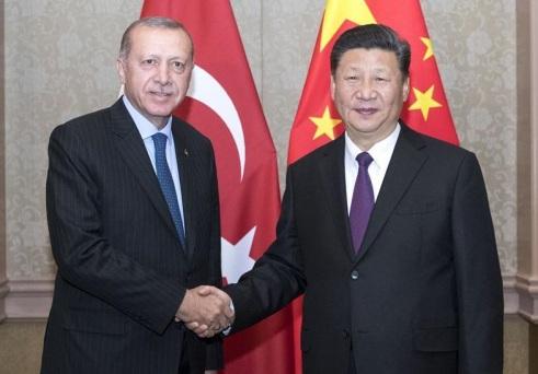 Erdogan Xi Jinping