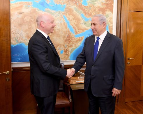 Greenblatt to visit Israel