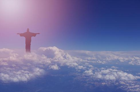 jesus-walking-on-clouds