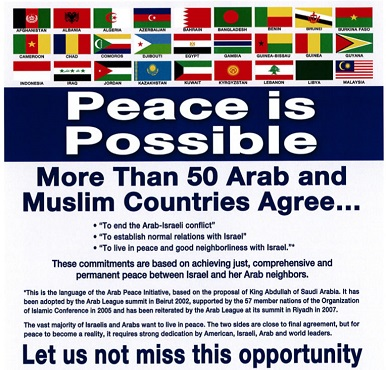 Israeli-Arab peace equation
