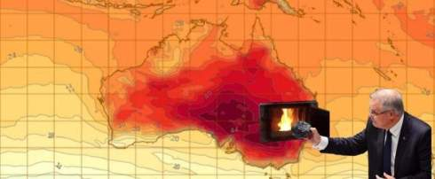 record heat in Australia