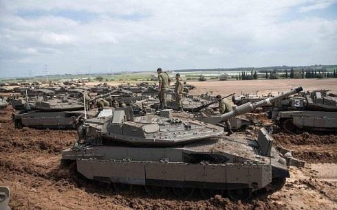 israel-tanks