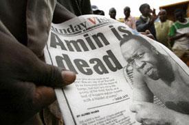 Idi Amin dead