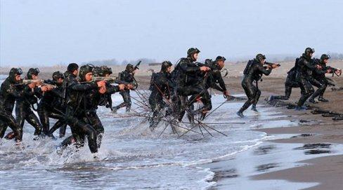 Iranian Revolutionary Guards marine force