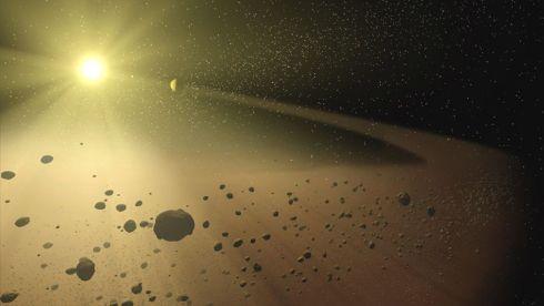 meteorite-field