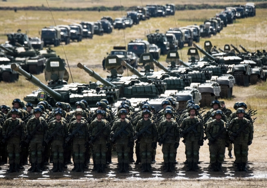 RUSSIA-DEFENCE-ARMY-DRILLS