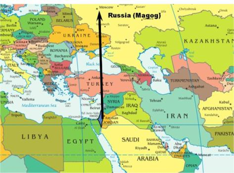 russia-israel-map