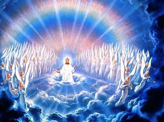 I heard every creature in heaven