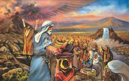 Mosaic-covenant-blood