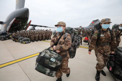 army have been transporting medical supplies