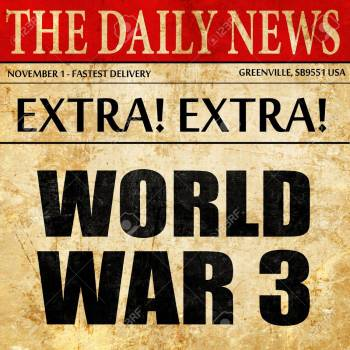 world war 3, newspaper article text