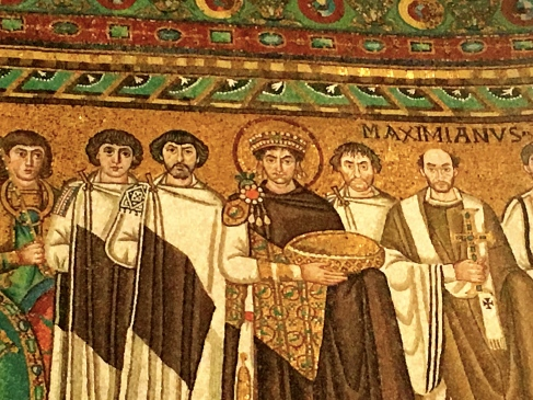 Emperor Justinian elevated the Bishop of Rome to the position of Head of all Churches