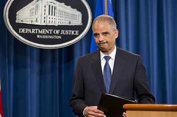 former Obama Attorney General Eric Holder