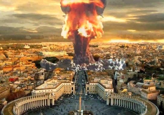 Vatican destroyed