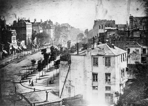 View of the Boulevard du Temple