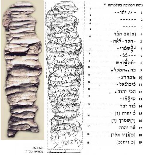 Silver Ketef Hinnom Scrolls
