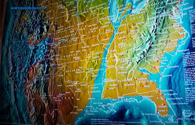 us split map