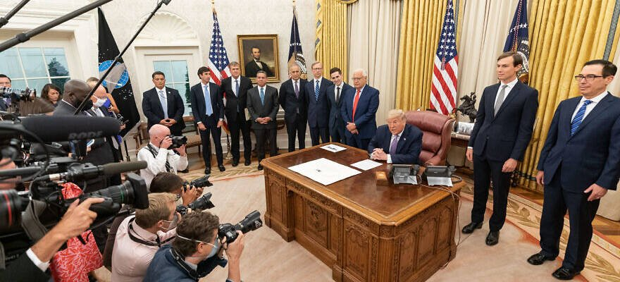 Abraham Accords signing WH