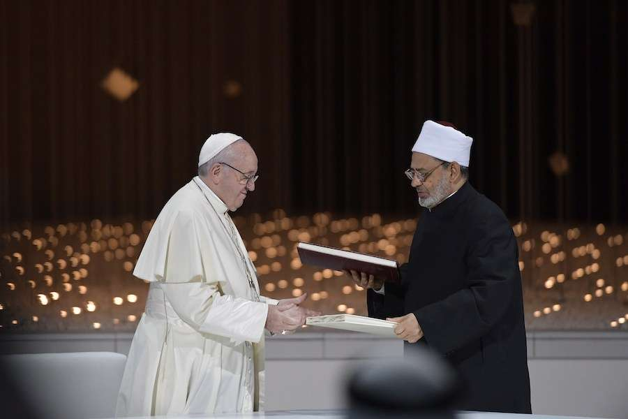 pope peace declaration