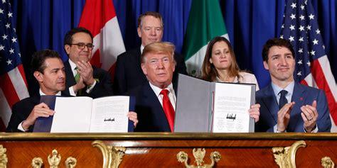 Renegotiated several trade deals