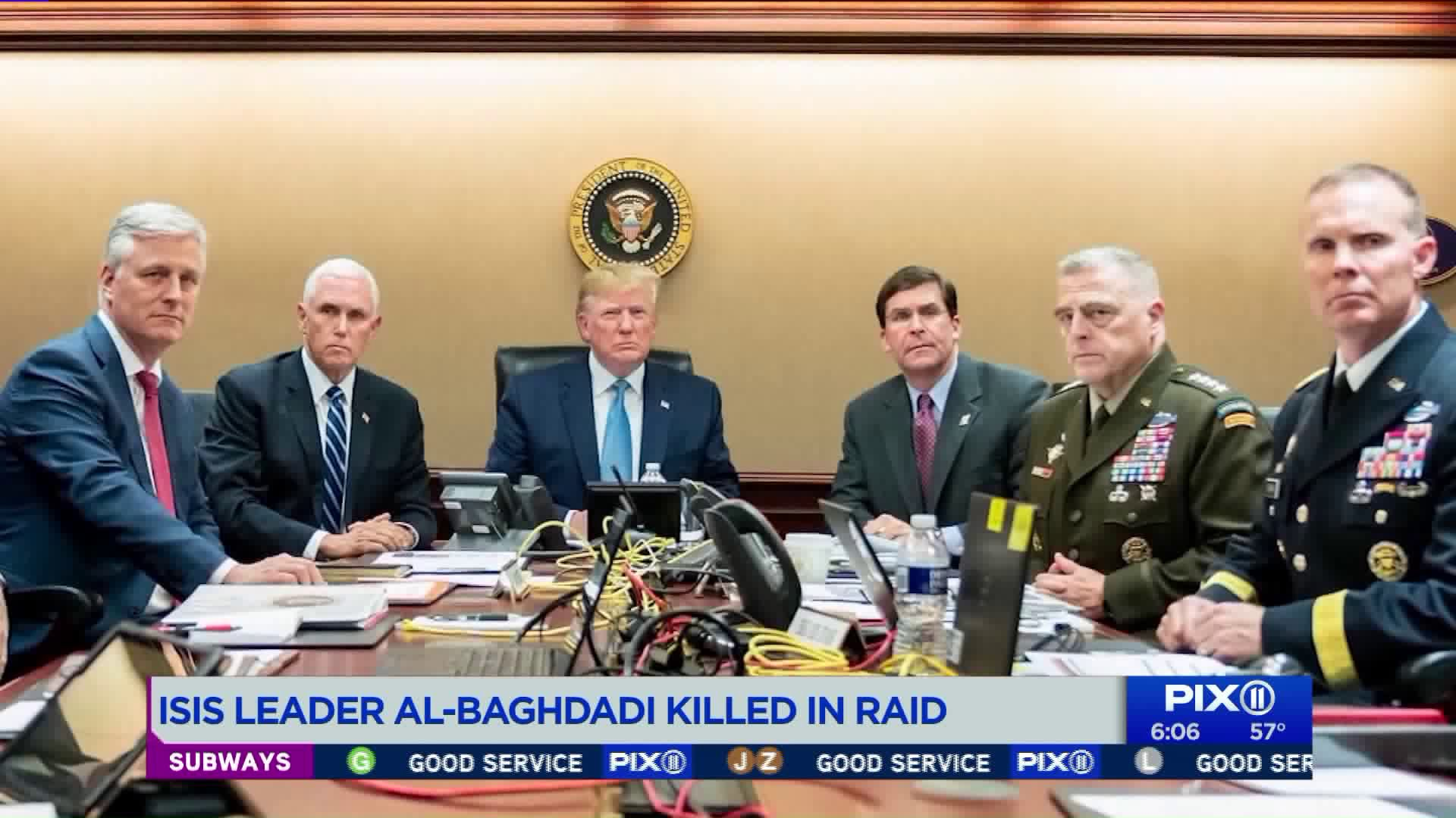 Trump Confirms ISIS Leader al-Baghdadi Killed in US Raid