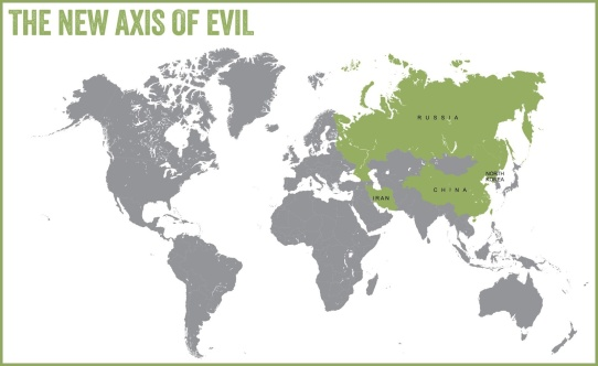 axis of evil map