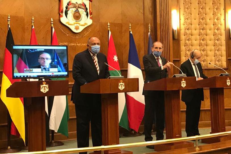 Egypt Jordan work to thaw Israeli-Palestinian negotiations