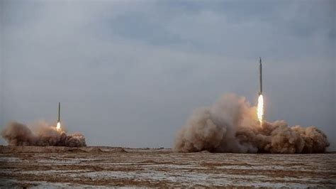 "Iran test-fires ""new generation"" ballistic missiles"