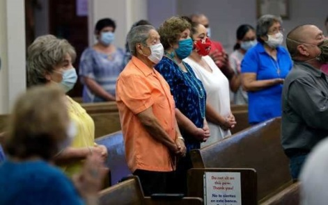 church cdc masks