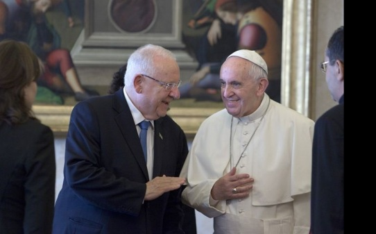 President Reuven Rivlin and Pope