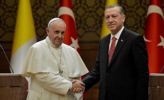 pope erdogan 1