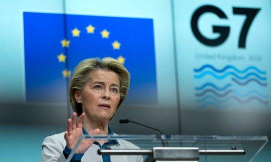 BELGIUM-EU-G7-ECONOMY-SUMMIT-DIPLOMACY
