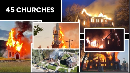 45 churches