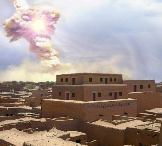 Sodom destroyed